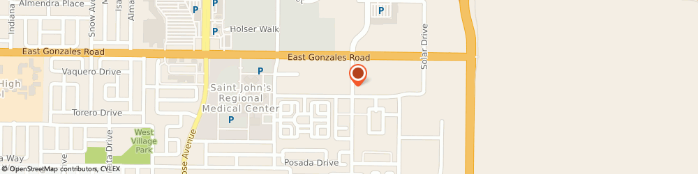 Route/map/directions to Workrite Uniform Company Incorporated, 93030 Oxnard, 1701 North Lombard Street, Suite 200