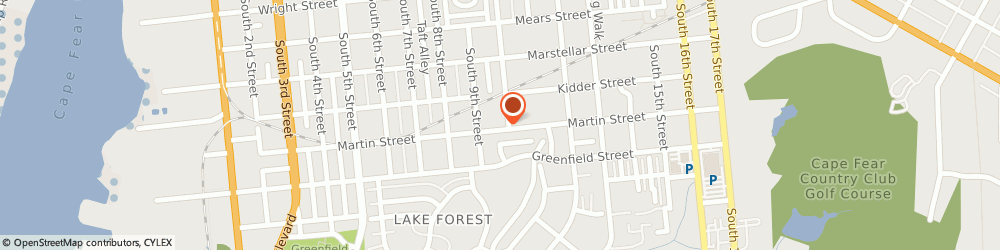 Route/map/directions to Atlantic Appliance & Hardware, 28401 Wilmington, 1320 S. 10th Street