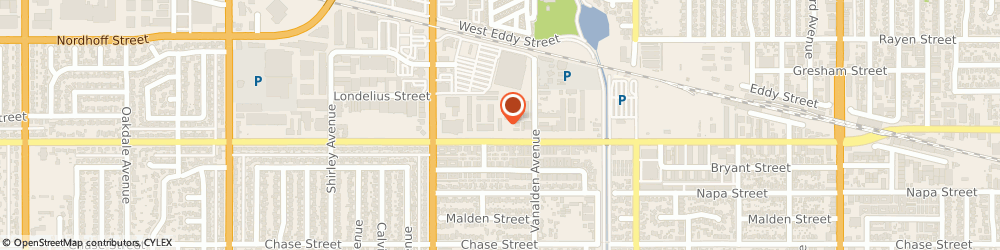 Route/map/directions to Ryder, 91324 Northridge, 19133 Parthenia Street