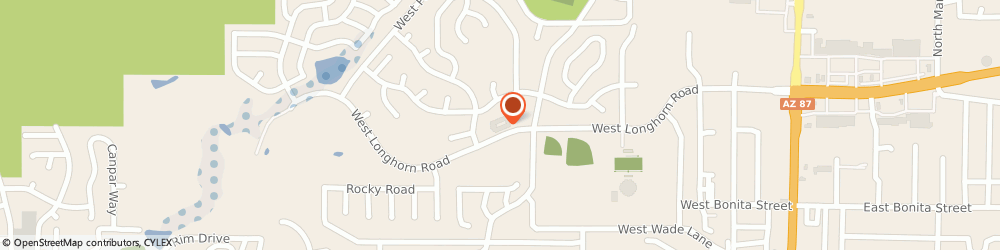 Route/map/directions to Powell Place, 85541 Payson, 806 West Longhorn Road
