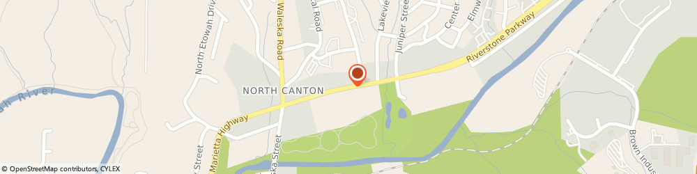 Route/map/directions to DIRECT GENERAL, 30114 Canton, 231 Riverstone Pkwy 106
