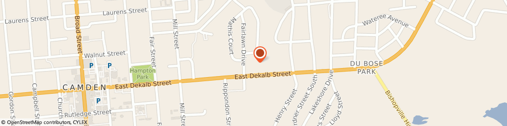 Route/map/directions to Piggly Wiggly, 29020 Camden, 50 E DEKALB ST