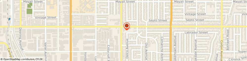 Route/map/directions to Citibank ATM, 91311 Chatsworth, 9850 Mason