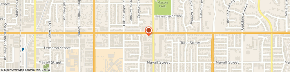 Route/map/directions to Citibank, 91311 Chatsworth, 20520 Devonshire St