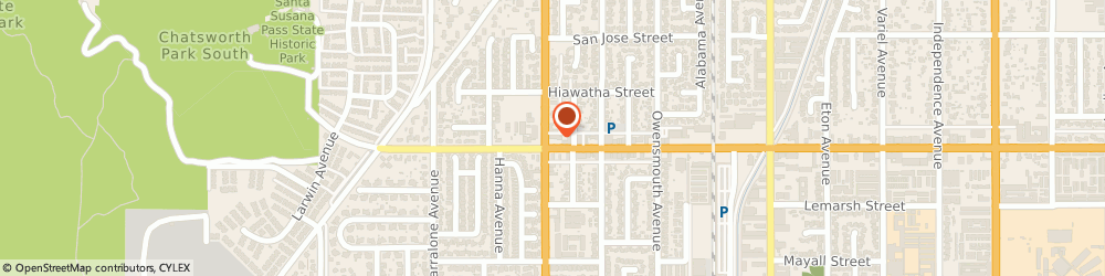 Route/map/directions to Citibank ATM, 91311 Chatsworth, 21925 Devonshire