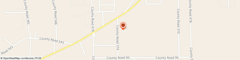 Route/map/directions to Texaco, 35951 Albertville, 121 County Road 374