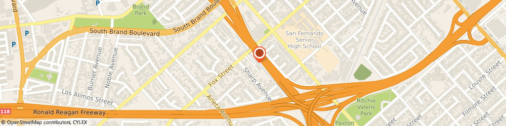 Route/map/directions to Jehovahs Witnesses Front, 91345 Mission Hills, 14454 Fox Street