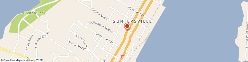 Route/map/directions to Wells Fargo Home Mortgage, 35976 Guntersville, 600 Gunter Ave
