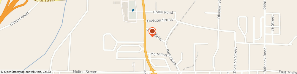 Route/map/directions to Oreilly Auto Parts, 72104 Malvern, 1215 Martin Lthr Kng Boulevard # B