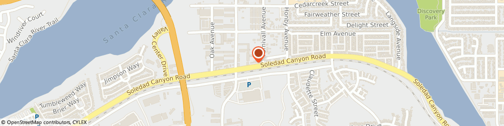 Route/map/directions to Bouquet Veterinary Clinic, 91351 Canyon Cntry, 20655 SOLEDAD CANYON ROAD SUITE 18