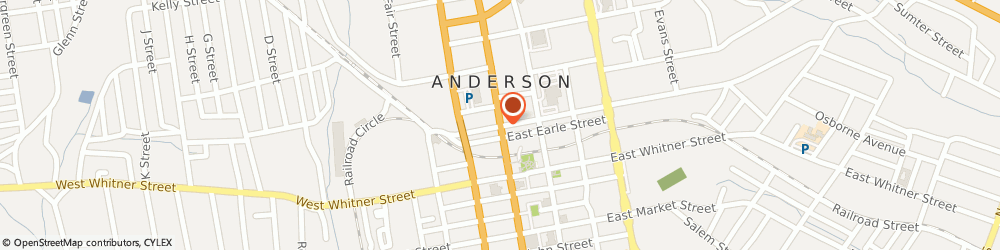 Route/map/directions to STATE FARM Ron Haskell, 29621 Anderson, 302 N Main St