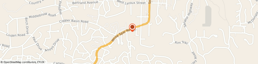 Route/map/directions to Family Chiropractic Healthcare, 86303 Prescott, 405 WHITE SPAR ROAD