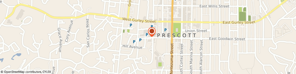 Route/map/directions to Goodwin St Pharmacy, 86303 Prescott, 406 WEST GOODWIN STREET