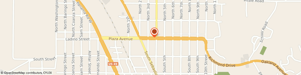 Route/map/directions to U-Haul Co., 72390 West Helena, 326 PLAZA
