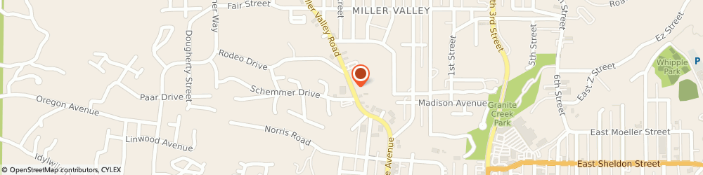 Route/map/directions to Cvs Pharmacy, 86301 Prescott, 506 NORTH MILLER VALLEY ROAD