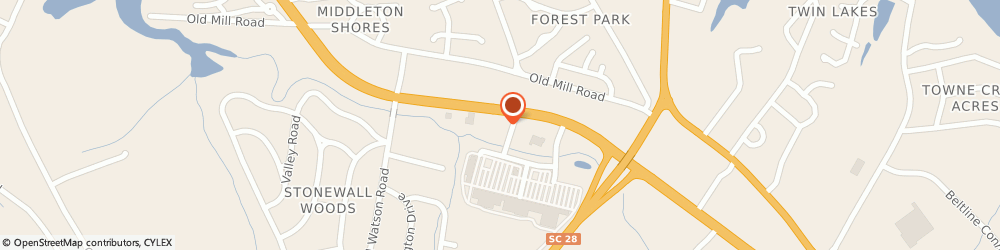 Route/map/directions to Wells Fargo ANDERSON, 29621 Anderson, 4123 Clemson Blvd