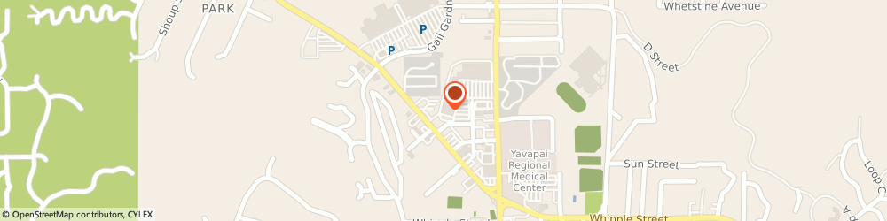 Route/map/directions to The UPS Store, 86301 Prescott, 1042 Willow Creek Rd