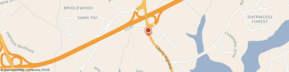 Route/map/directions to Wells Fargo ANDERSON, 29621 Anderson, 4535 Liberty Hwy