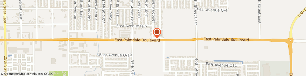 Route/map/directions to Parrish & Associates, 93550 Palmdale, 3166 EAST  BOULEVARD SUITE #209