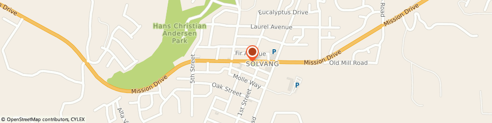 Route/map/directions to Amtrak Solvang, CA (SLV), 93463 Solvang, 1630 Mission Drive