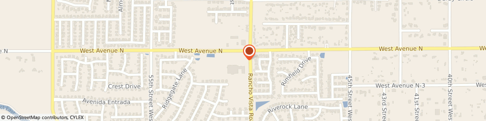 Route/map/directions to DEL TACO, 93551 Palmdale, 5010 West Avenue N