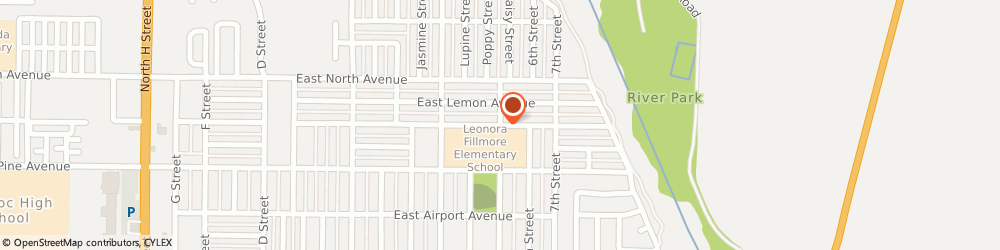 Route/map/directions to Accredited Cleaning Services, 93436 Lompoc, 925 E Oak Ave