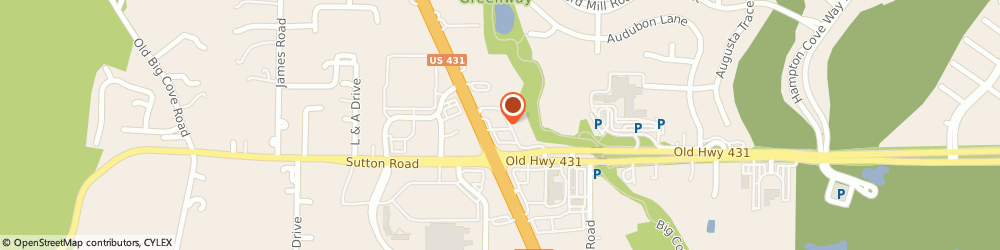 Route/map/directions to Pizza Hut, 35763 Owens Cross Roads, 6585 B Hwy 431S