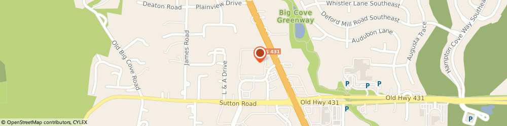 Route/map/directions to Maytag Retailer, 35763 Owens Cross Roads, 6584 Us Highway 431 South