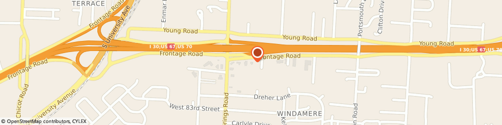 Route/map/directions to Citibank ATM, 72209 Little Rock, 8405 Interstate 30