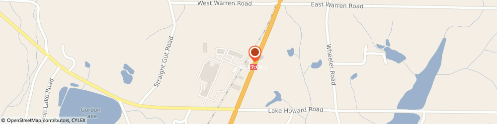 Route/map/directions to Liberty Tax Service, 30728 La Fayette, 2651 N Highway 27
