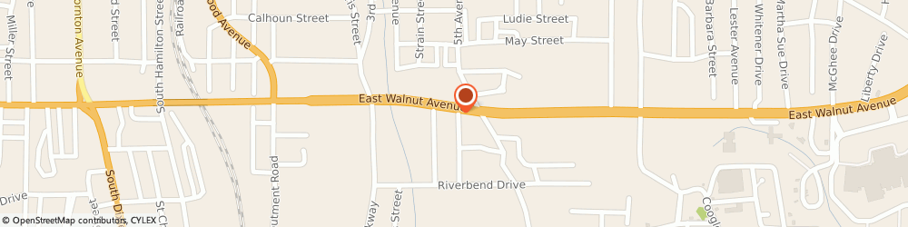 Route/map/directions to Wilson Insurance Agency, 30721 Dalton, 912 E Walnut Ave