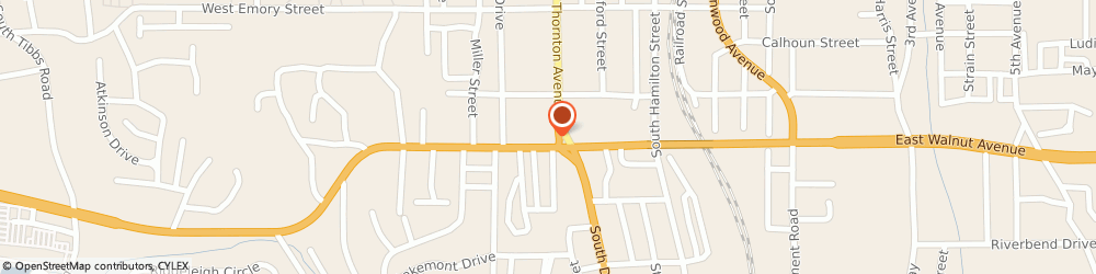 Route/map/directions to Greg Kirk - State Farm Insurance Agent, 30720 Dalton, 716 S Thornton Ave