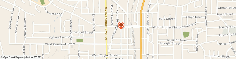 Route/map/directions to McGriff Insurance Services, 30720 Dalton, 201 W Waugh St