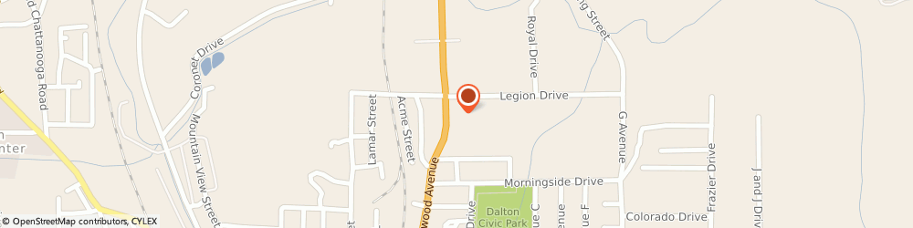 Route/map/directions to Advance Auto Parts, 30721 Dalton, 1130 N Glenwood Ave