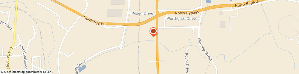 Route/map/directions to Bank of America, 30721 Dalton, 1271 CLEVELAND HWY