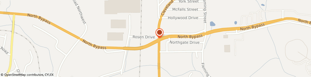Route/map/directions to Birchett Insurance Agency, 30721 Dalton, 1315 Cleveland Hwy