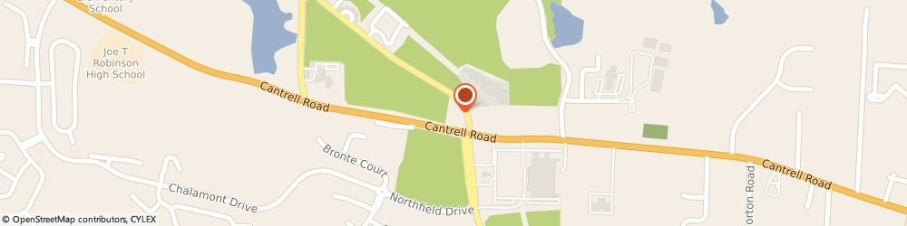 Route/map/directions to CITIBANK ATM, 72211 Little Rock, 19500 Cantrell Rd