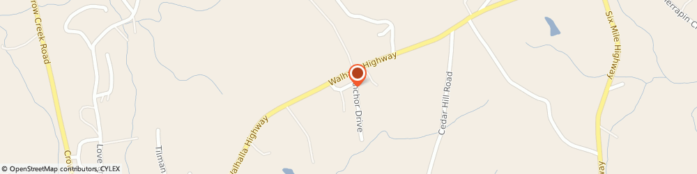 Route/map/directions to Durham's Automotive, 29682 Six Mile, 2937 Walhalla Hwy