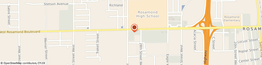 Route/map/directions to Rite Aid, 93560 Rosamond, 2938 West Rosamond Blvd