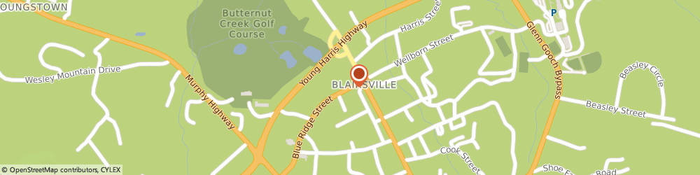 Route/map/directions to Country Financial Jamie N Burbage, 30512 Blairsville, 44A Blue Ridge St