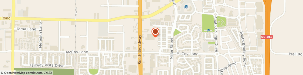 Route/map/directions to Albertsons, 93454 Santa Maria, 2320 S Broadway