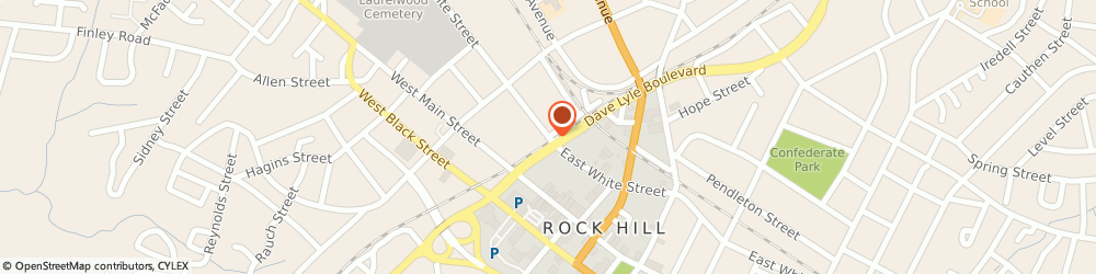 Route/map/directions to Rock Hill Heating & Air Conditioning, 29730 Rock Hill, 137 WEST WHITE STREET