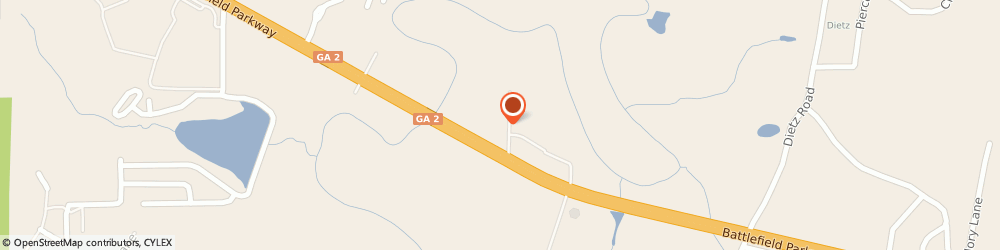 Route/map/directions to Wells Fargo ATM, 30742 Fort Oglethorpe, 124 Crye-Leike Dr