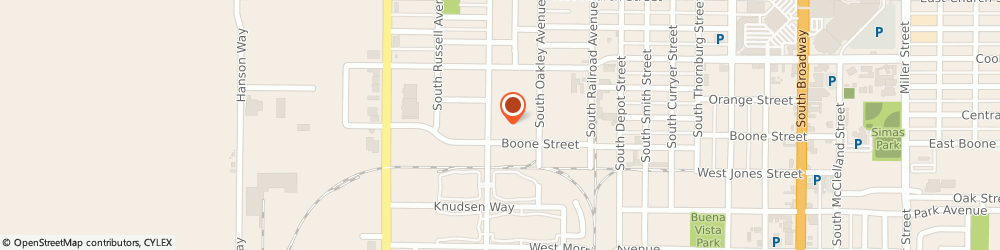 Route/map/directions to Mission Linen and Uniform Service, 93458 Santa Maria, 602 South Western Ave.