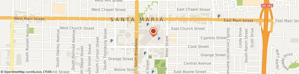 Route/map/directions to Macy's, 93454 Santa Maria, 302 Town Ctr E