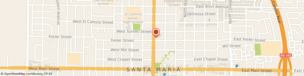 Route/map/directions to Maytag Retailer, 93454 Santa Maria, 200 Town Center East