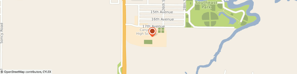 Route/map/directions to SmartStyle, 79015 Canyon, 1701 N 23Rd St