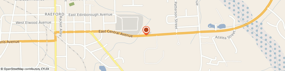 Route/map/directions to Navy Federal Credit Union ATM, 28376 Raeford, 1089 E Central Ave