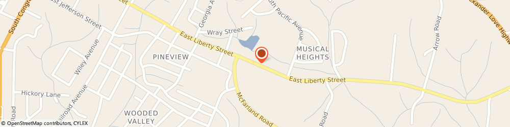 Route/map/directions to Puckett Timothy l Dr Chiroprctr, 29745 York, 809 E Liberty St