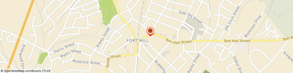 Route/map/directions to Jazzercise Fort Mill The Gym, 29715 Fort Mill, 214 Main St.